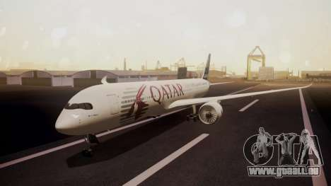Airbus 350-900XWB Qatar Launch Customer pour GTA San Andreas