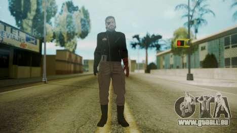 Venom Snake [Jacket] pour GTA San Andreas deuxième écran