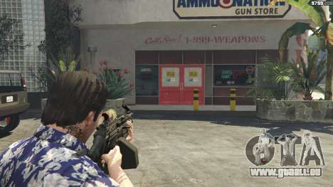 GTA 5 M249 vierten Screenshot