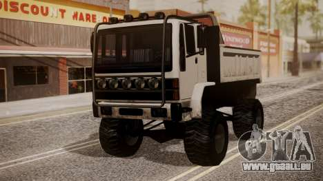 DFT Monster Truck 30 pour GTA San Andreas