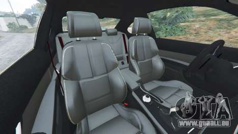 GTA 5 BMW M3 (E92) WideBody v1.1 droite vue latérale