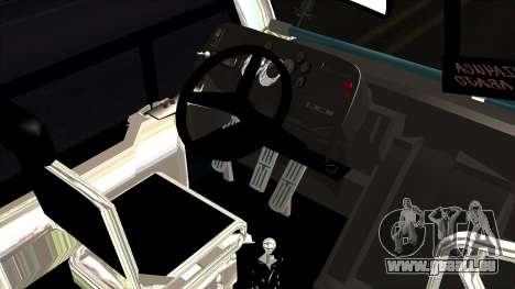 International Ayco Zafiro Tizayuca pour GTA San Andreas sur la vue arrière gauche
