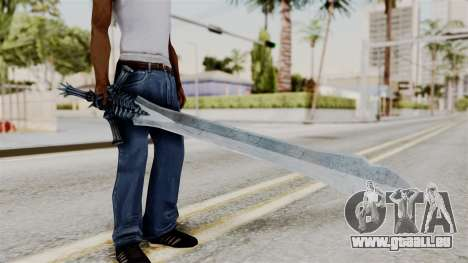 Katana from RE6 pour GTA San Andreas