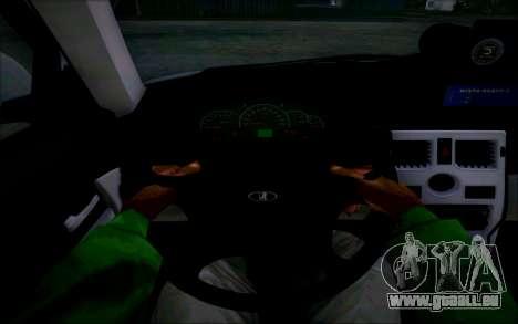 VAZ 2170 Priora DPS pour GTA San Andreas vue de côté