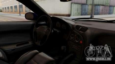 Mazda RX-7 Black Rock Shooter Itasha für GTA San Andreas rechten Ansicht