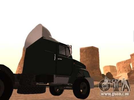 ZIL-133 05A pour GTA San Andreas vue de côté