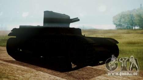 T1 E6 pour GTA San Andreas laissé vue