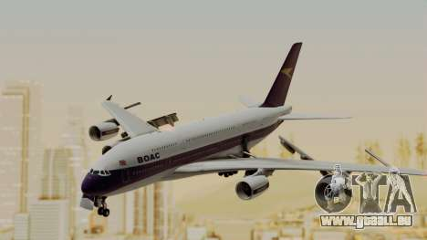 Airbus A380-800 British Overseas Airways Corp. für GTA San Andreas