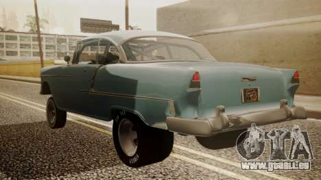 Chevrolet Bel Air Gasser für GTA San Andreas linke Ansicht
