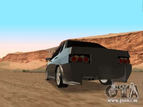 VAZ 21099 für GTA San Andreas obere Ansicht