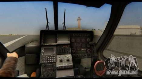 KA 60 Kasatka für GTA San Andreas Rückansicht