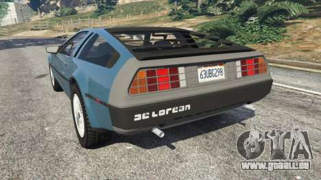 DeLorean DMC-12 v1.2 pour GTA 5
