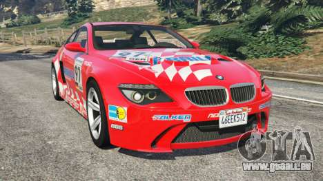 BMW M6 (E63) WideBody v0.1 [Carrillo] pour GTA 5