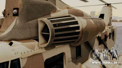 GTA 5 Cargobob für GTA San Andreas rechten Ansicht