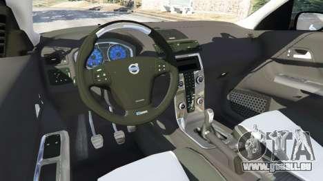 GTA 5 Volvo C30 T5 arrière droit vue de côté