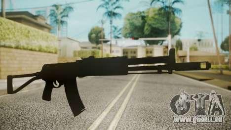 AK-47 by catfromnesbox pour GTA San Andreas deuxième écran