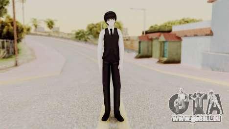 Kaneki Anteiku (Tokyo Ghoul) für GTA San Andreas zweiten Screenshot