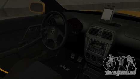 Subaru Impreza WRX GDA für GTA San Andreas rechten Ansicht