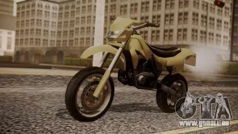 Sanchez SuperMoto für GTA San Andreas