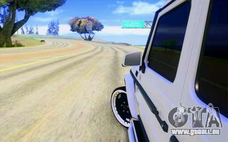 Mercedes-Benz G65 AMG pour GTA San Andreas roue