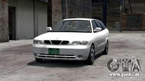 Daewoo Nubira I Spagon 1.8 DOHC 1998 pour GTA 4 Salon