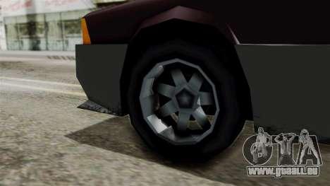 Blista Compact from Vice City Stories pour GTA San Andreas sur la vue arrière gauche