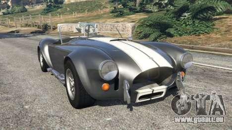 AC Cobra v1.2 [Beta] pour GTA 5