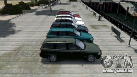 Daewoo Nubira I Spagon 1.8 DOHC 1998 pour GTA 4 roues