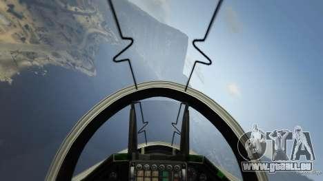 GTA 5 Realistic Flight V 1.6 deuxième capture d'écran