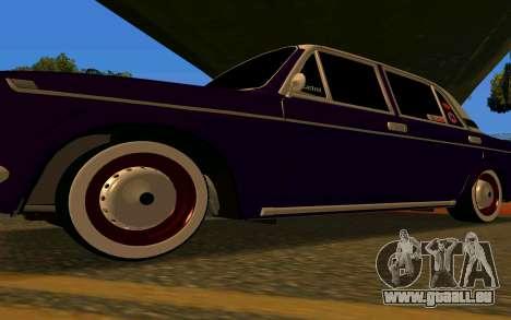 Auberginen VAZ 2103 für GTA San Andreas Innenansicht