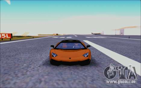 Lamborghini Aventador MV.1 [IVF] für GTA San Andreas Innenansicht
