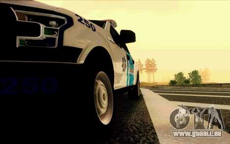 Ford F150 2015 Towtruck für GTA San Andreas Seitenansicht