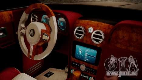 Rolls-Royce Ghost v1 pour GTA San Andreas vue de droite