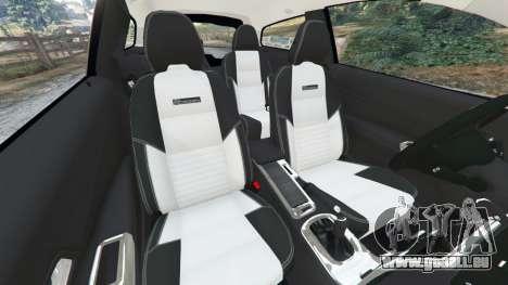 GTA 5 Volvo C30 T5 droite vue latérale