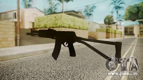 AK-47 by catfromnesbox pour GTA San Andreas troisième écran