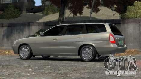 Daewoo Nubira I Spagon 1.8 DOHC 1998 pour GTA 4 est une gauche