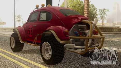 Volkswagen Beetle Baja Bug für GTA San Andreas linke Ansicht