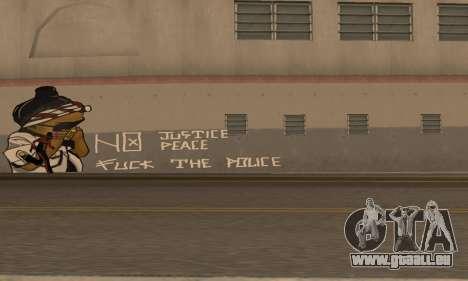 HooverTags pour GTA San Andreas deuxième écran