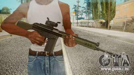 Rifle by EmiKiller pour GTA San Andreas troisième écran