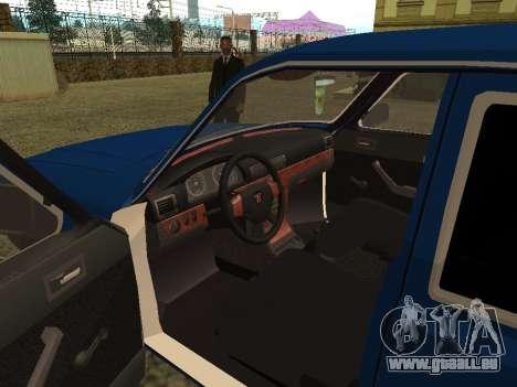 GAZ Volga 3102 pour GTA San Andreas vue arrière