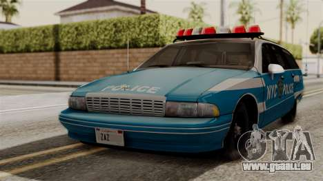 Chevy Caprice Station Wagon 1993-1996 NYPD pour GTA San Andreas