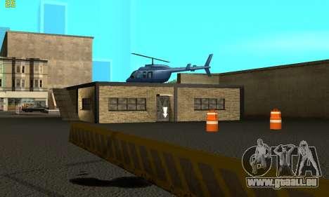 Remplacement de textures pour l'école de Conduit pour GTA San Andreas deuxième écran