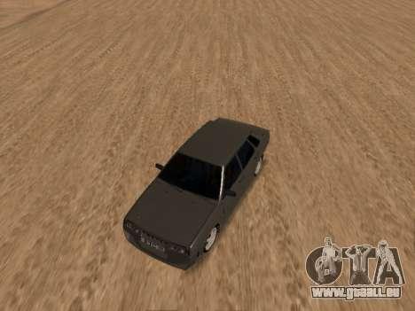 VAZ 21099 für GTA San Andreas Seitenansicht