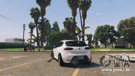 Seat Leon 2010 [BETA] v1.0 für GTA 5
