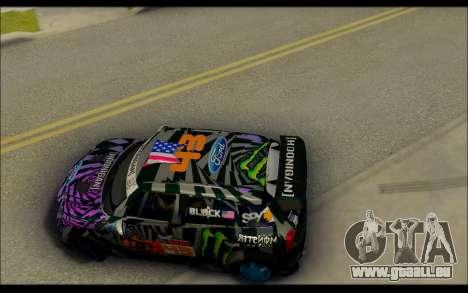 Mini Cooper Gymkhana 6 with Drift Handling pour GTA San Andreas vue de droite