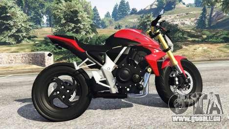 Honda CB1000R pour GTA 5