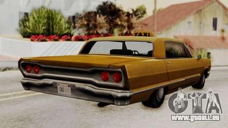 Taxi-Savanna v2 pour GTA San Andreas laissé vue