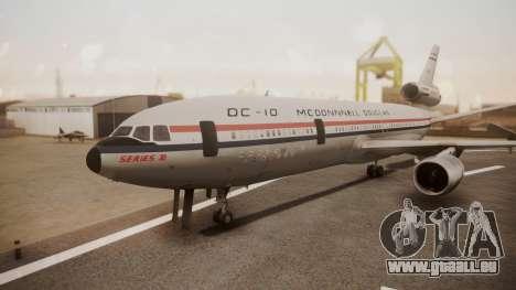 McDonnell-Douglas DC-10 Prototype N1339U pour GTA San Andreas