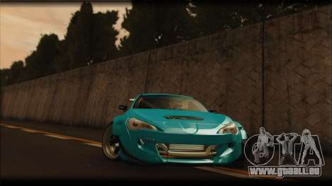 Toyota GT86 Customs Rocket Bunny für GTA San Andreas linke Ansicht