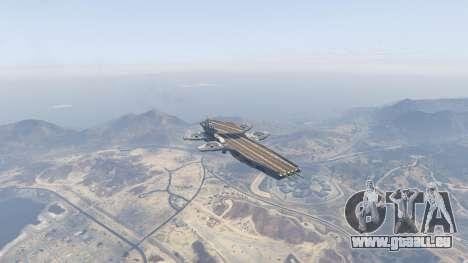 GTA 5 S.H.I.E.L.D. Helicarrier vierten Screenshot